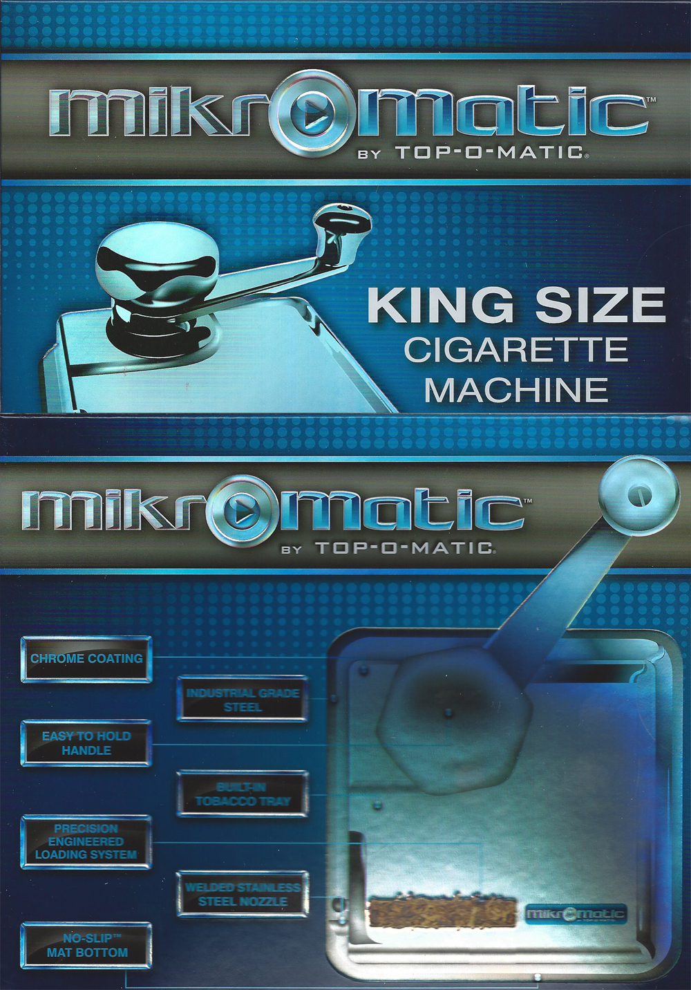 Mikromatic Cigarette Making Machine Its Tobacco